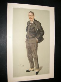 Vanity Fair Print 1905 Sir Charles Stanford